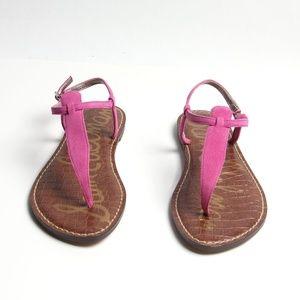 c3bec39d1313 Sam Edelman Shoes - NIB - Sam Edelman - Gigi Pink Suede Thong Sandals